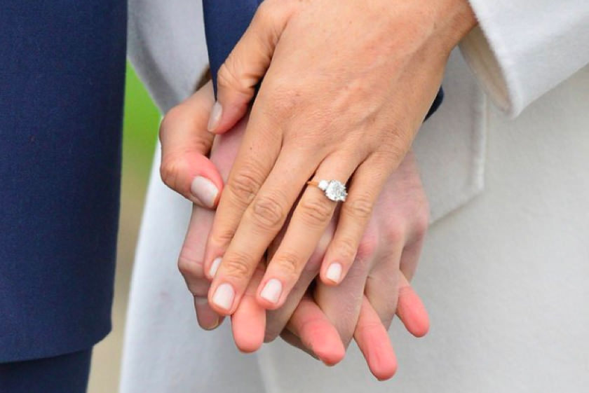 Princess Harry Engagement Ring